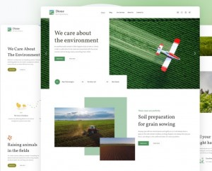 Dione v.1.1.0 – Farming and Agriculture Corporate Template