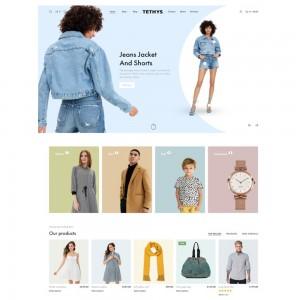 Tethys v.1.1.0 – eCommerce Fashion and Minimalism Template