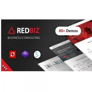 RedBiz v1.2.4 – Finance & Consulting Multi-Purpose WordPress Theme
