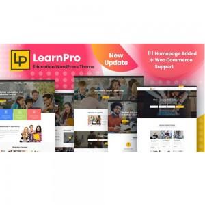 LearnPro – Online Course Education WordPress v1.0