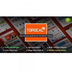 TopDeal – Multi Vendor Marketplace WordPress Theme v.2.1.3