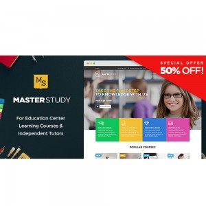 Masterstudy – Education WordPress Theme v4.3.2