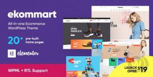 ekommart WordPress Theme v.3.5.5 for E-Commerce Free Download